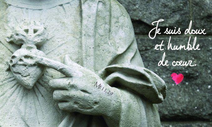 Commentaire de l'Évangile] « Car je suis doux et humble de cœur. » – Les  Maux de Ma Foi